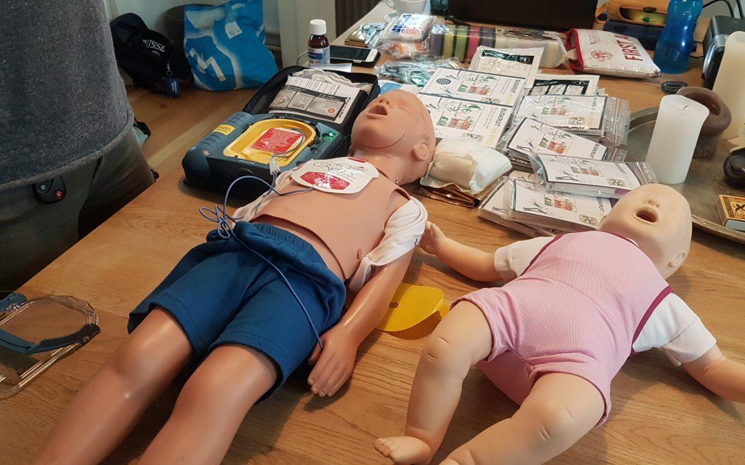 EHBO cursus gericht op kinderongelukken