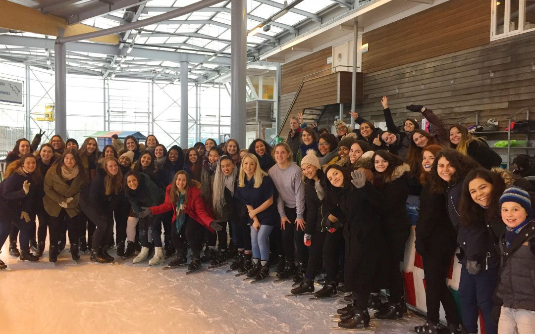 HBN Ice skating event
